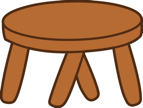 Footstool Clipart
