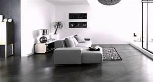 Flüssiger Bodenbelag Wohnzimmer : fliesen steinoptik porcelanosa boden grau sofa wohnzimmer youtube ~ Buech-reservation.com Haus und Dekorationen