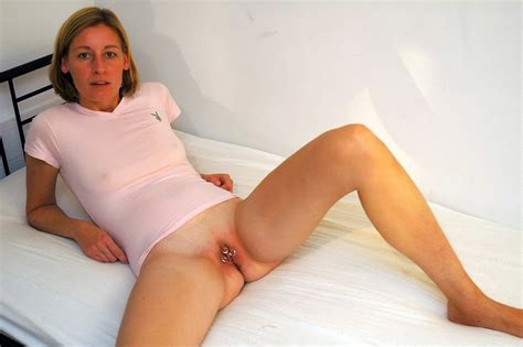 Cherry Milf Wife Spreading Her Legs And Showing Her Shaved