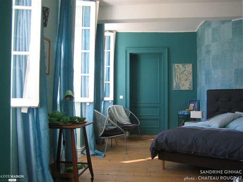 papier peint chambre moderne cuisine mur bleu galerie avec peinture bleu canard photo