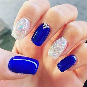 20 Ravishing Royal Blue Nails To Fall In Love With