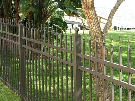 Concealed Fastener Aluminum Fence