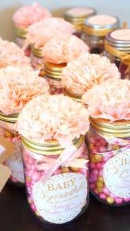 DIY Mason Jar Baby Shower Favors