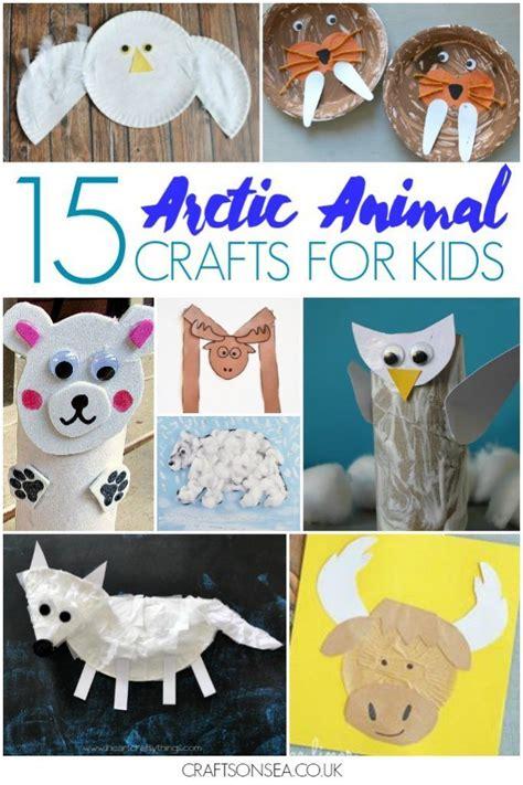 easy  fun arctic animal crafts  kids winter