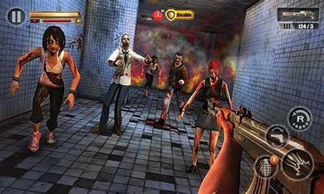 infected house zombie shooter  apk mod android