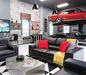 Room Envy A Briarcliff Garage Becomes An Upscale Man Cave Atlanta Magazine