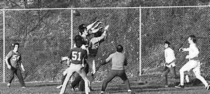 Pick-up Football Game At Moore Park