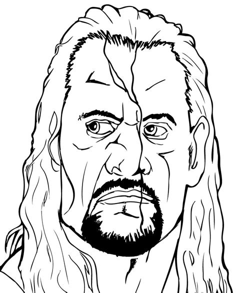 Cena Kleurplaten by Wrestler Coloring Pages For Free Printable