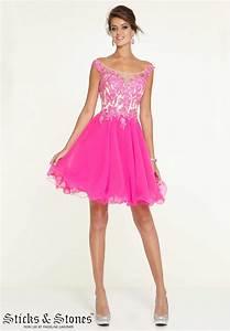 Hot Pink Party Dress - Brqjc Dress