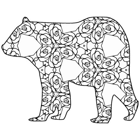 Coloring Pages Animals by 30 Free Coloring Pages A Geometric Animal Coloring