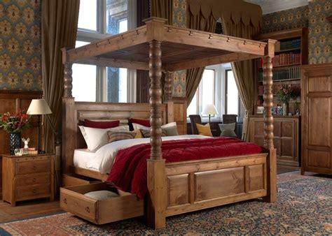 solid wood  poster bed  ambassador  poster