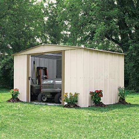 arrow steel storage shed with foundation 10x10 39 sears
