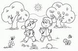 Coloring Pages Away Preschool sketch template