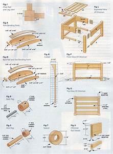 Morris Chair Plans • WoodArchivist