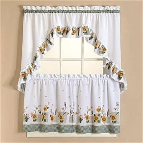 sunflower curtains from kmart sunflower kitchens