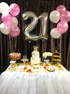 21st Birthday Decoration THAT Balloons
