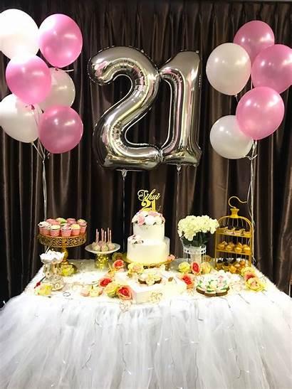 21st Birthday Decoration Balloons Party Balloon Decorations