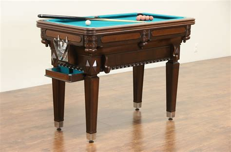 sold billiardette  pat vintage small billiard