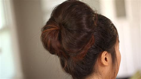 create  modern big bun kin beauty youtube