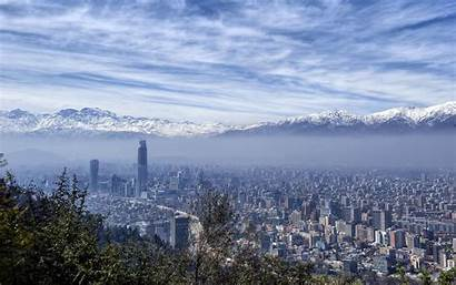 Santiago Chile Mountains Skyline Imgur Mountain Wallpapers