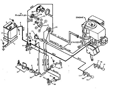 Craftsman Lt4000 Wiring Diagram by Wiring Diagram Diagram Parts List For Model 502254260
