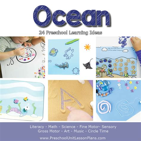 a year of preschool lesson plans bundle where 810 | Preschool Lesson Plans Ocean