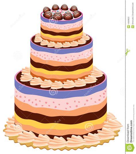 torta clipart torta grande fotos de archivo imagen 14569623