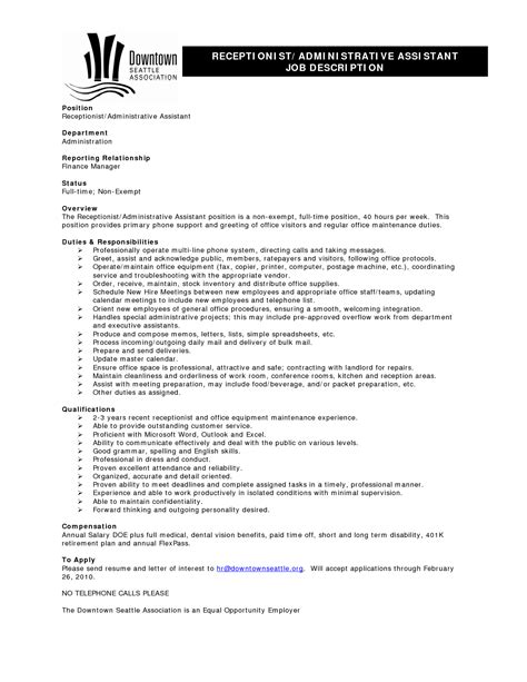 Banquet Server Resume Sle by Banquet Server Resume Sle 13 Images Professional Administrative Assistant Sle Resume