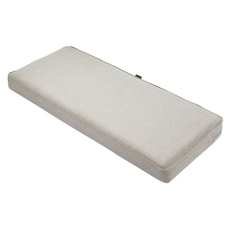 gray bench cushion classic accessories montlake fadesafe grey 48 in
