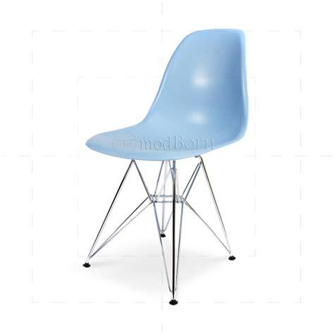 eames style dining dsr eiffel chair blue