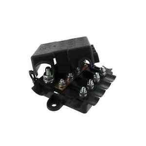 Duty Fuse Box by 12v 24v Power Distribution Box Heavy Duty Mega Midi