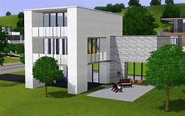 HD wallpapers maison moderne sims 2 www ...