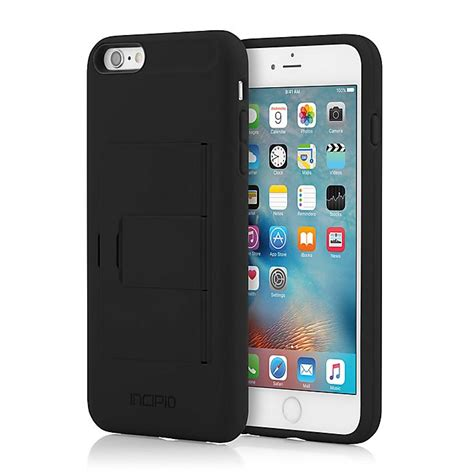 Great savings & free delivery / collection on many items. Incipio® STOWAWAY™ Case for iPhone 6 Plus in Black | Bed Bath & Beyond