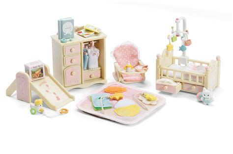 Calico Critters Baby`s Nursery Set , New, Free Shipping