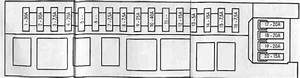 Mercedes C Class W202 Engine C240 - Fuse Box Diagram