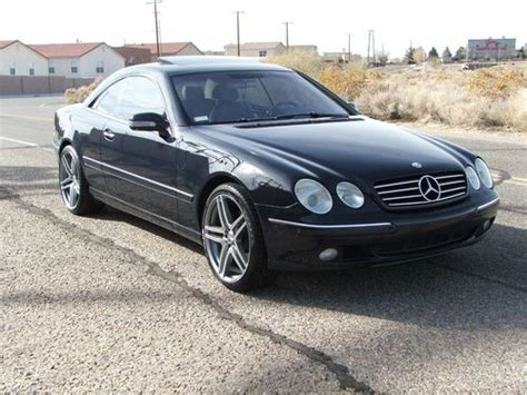 how to fix cars 2001 mercedes benz cl class lane departure warning purchase used 2001 mercedes benz cl 500 with 46k miles in albuquerque new mexico united states
