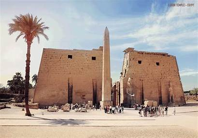 Luxor Temple Ancient Prime Looked Ruins Its