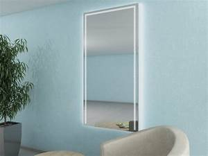Wandspiegel Mit Licht : wandspiegel mit led beleuchtung flurspiegel ws 088fl4 magna ~ Orissabook.com Haus und Dekorationen