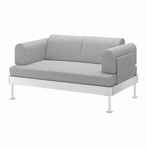 Ikea Sofa Weiß : delaktig 2er sofa tallmyra wei schwarz ikea ~ Watch28wear.com Haus und Dekorationen