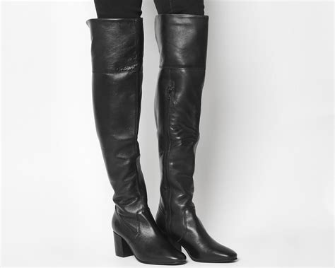 Knee Boots : Office Krissy Over The Knee Boots In Black