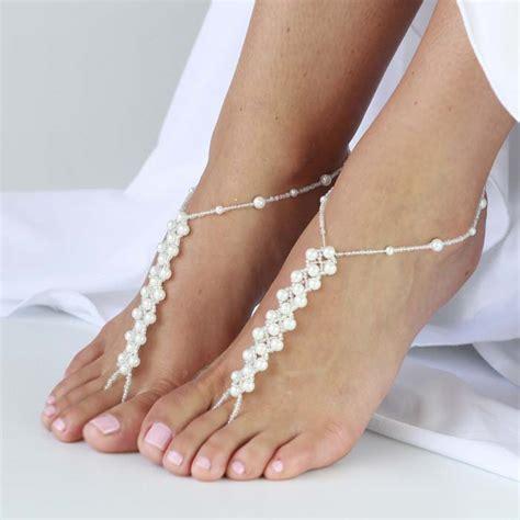 heels gelang barefoot sandals for brides