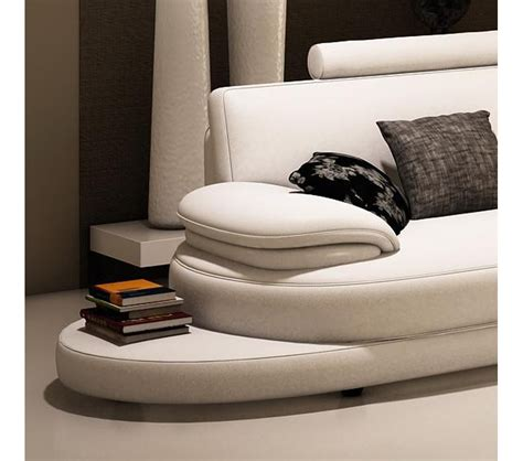 Contemporary Italian Leather Sectional Sofas by Dreamfurniture 954 Contemporary Italian Leather