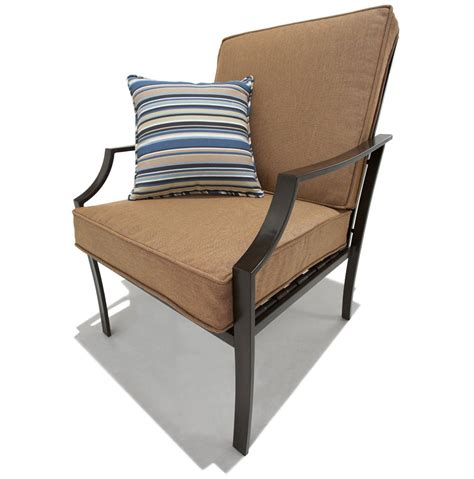 strathwood patio furniture cushions strathwood brentwood 4 all weather