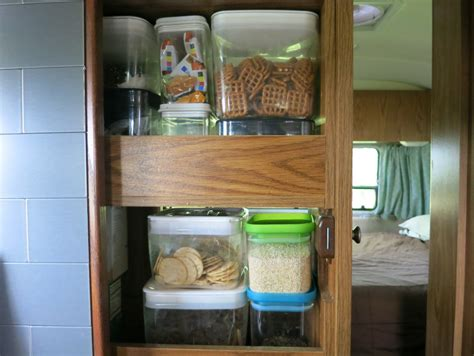 rv kitchen storage solutions rv storage solutions and organization tips 5036