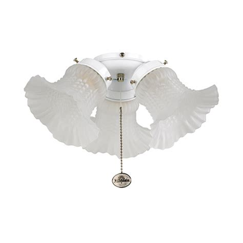 fantasia tulip 3 light ceiling fan kit ceiling fan light