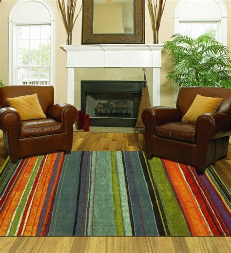 large area rug colorful  living room size carpet home