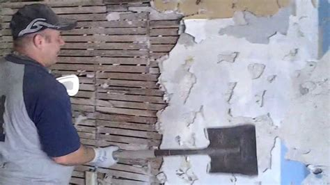 diy   remove lath  plaster part  plaster youtube