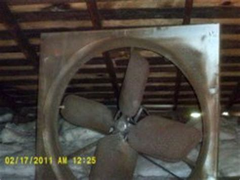 this old house attic fan roof and attic