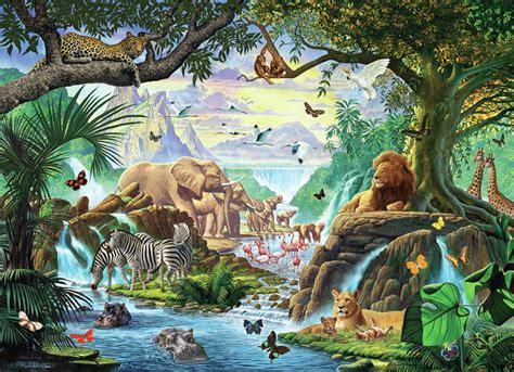 wall mural nature jungle muraldecalcom