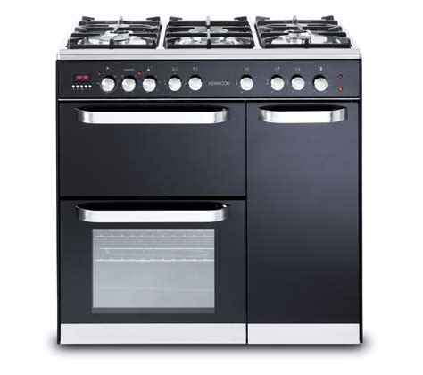 buy kenwood ck503 dual fuel range cooker black free delivery currys